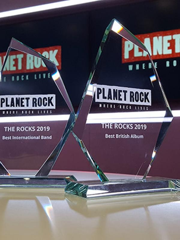 The Rocks 2019 Best British Single 1. Fish: 'Man With A Stick' - WINNER!