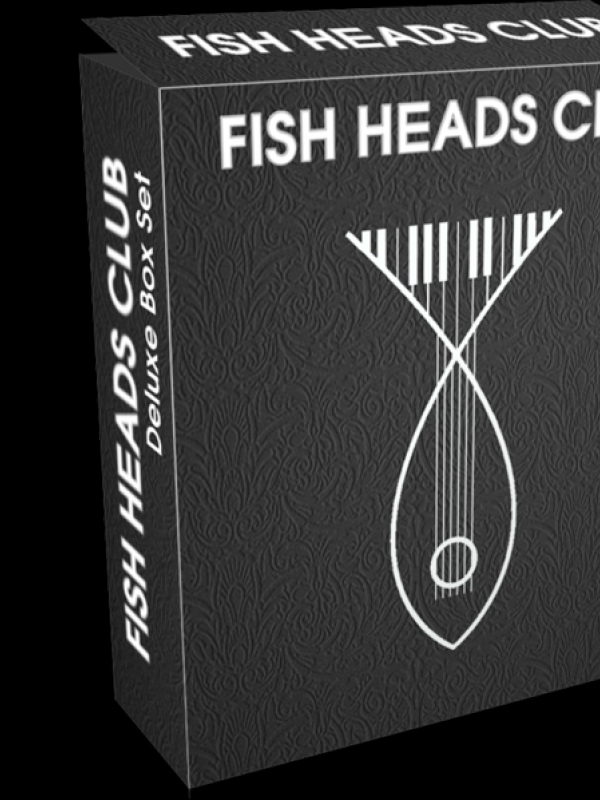 Fishheads Club launch page with sign up competitiion